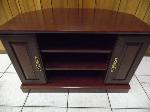 Lot: A5567 - Cherry Wood Tv Stand