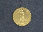 Lot: 2467 - 1993 STANDING LIBERTY $50 GOLD COIN