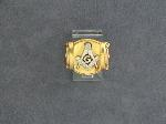Lot: 2483 - 14K MASONIC RING