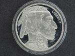 Lot: 2501 - BUFFALO NICKEL COPY .999 SILVER COIN