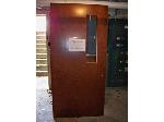 Lot: BH101 - HEAVY DUTY USED WOOD DOOR