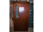 Lot: BH103 - HEAVY DUTY USED WOOD DOOR