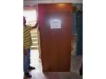 Lot: BH105 - HEAVY DUTY USED WOOD DOOR