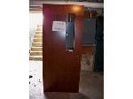 Lot: BH106 - HEAVY DUTY USED WOOD DOOR