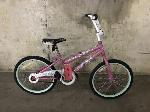 Lot: 142 - White/Pink Rallye Bicycle