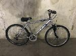 Lot: 155 - Silver/Blue Schwinn Bicycle