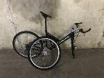Lot: 158 - Black/Brown Cannondale Bicycle