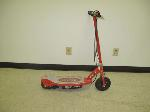 Lot: 160&161 - (2) Red Razor Scooters
