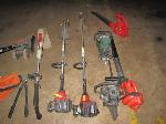 Lot: 194 - (2) Blowers, Chainsaw, (2) Weedeaters