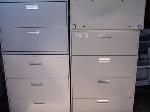 Lot: 12 - (4) Shelf Cabinets