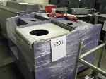 Lot: 5201 - (4) Trash/Tray Receptacles