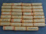 Lot: RL 106 - (31) UNC ROLLS 2000 STATEHOOD QUARTERS - MA, MD, SC, NH & VA