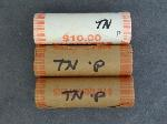 Lot: RL 111 - (3) $10 ROLLS STATEHOOD QUARTERS - TN
