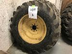 Lot: 6 - (2) FORD-NH 555E TIRE ASSEMBLIES