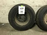 Lot: 22 - JOHNSON 4000 SWEEPER TIRE ASSEMBLY