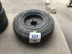 Lot: 40 - DRESSER 54-6B TIRE ASSEMBLY