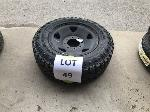 Lot: 49 - JOHNSON 4000 TIRE ASSEMBLY