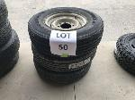 Lot: 50 - (3) FORD F350 TIRE ASSEMBLIES