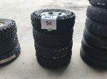 Lot: 54 - (4) CHEVROLET 2500 TIRE ASSEMBLIES