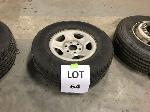 Lot: 64 - CHEVROLET TAHOE TIRE ASSEMBLY