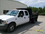 Lot: V406 - 2003 Ford F350 Dump Truck