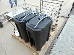 Lot: 1207 - Beverage Dispensers, Food Racks, Hot Pan