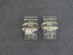 Lot: 2504 - 14K WEDDING RING SET
