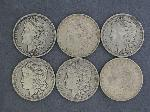 Lot: 2511 - (6) 1900 - 1921 MORGAN DOLLARS