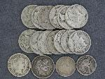 Lot: 2528 - (2) LIBERTY SEATED HALF DIMES & (2) LIBERTY HEAD DIMES