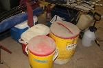 Lot: 032 - LOT OF COOLERS W/2 CHAIRS