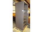 Lot: 02-18622 - (2) Metal Bookshelves