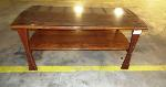 Lot: 02-18626 - Table with Glass Top