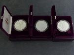 Lot: 2582 - (3) AMERICAN EAGLE 1 OZ PROOF SILVER COINS