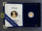 Lot: 2584 - 1989 AMERICAN EAGLE 10TH OZ. GOLD BULLION COIN