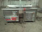 Lot: 4.MN - Wells Industrial Stainless Prep Table with Warmer Drawers
