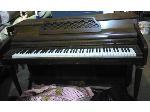 Lot: 26.HO - Wooden Upright Piano