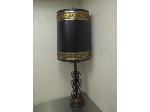 Lot: 116.HO - Big Metal Lamp With Metal Lamp Shade