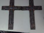 Lot: 120-122.HO - (3) Crosses & And He Shall Be Called Picture