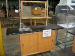 Lot: 542.LUB - PORTABLE SHOP SINK W/ MIRROR
