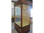 Lot: 07 - Rolling Trophy Case