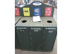 Lot: 09 - Rolling Trashcan/Recycle Can
