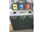 Lot: 10 - Rolling Trashcan/Recycle Can