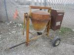 Lot: 16 - Stone Electric Cement Mixer w/ Dayton Motor