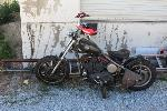 Lot: 44521 - Homemade Motorcycle