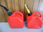 Lot: A5641 - (2) Two Gallon Portable Gasoline Tanks