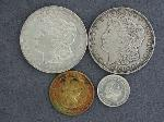 Lot: 2682 - 1921-D & 1921 MORGAN DOLLARS