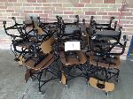 Lot: 07.SP - (14) Rolling Chairs