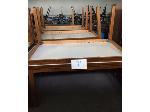 Lot: 21.SP - (8) 5-ft Oak Tables