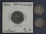 Lot: 2736 - 1833 CAPPED BUST DIME & 1850 SEATED LIBERTY DIME