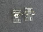Lot: 2754 - 18K & PLATINUM RINGS